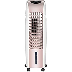 KUNTIAO Ventilateur de climatisation Mobile, Ventilateur Froid, 3 Vitesses, réservoir d'eau 6l, Sortie d'air à Grand Angle turbocompressé et air Pur, Convient pour la Maison et Le Bureau