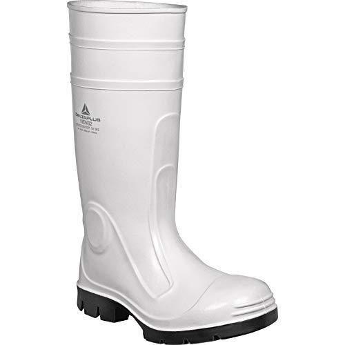 Delta Plus stivali-Stivale sicurezza Viens PVC Nitrile Bianco Taglia 47