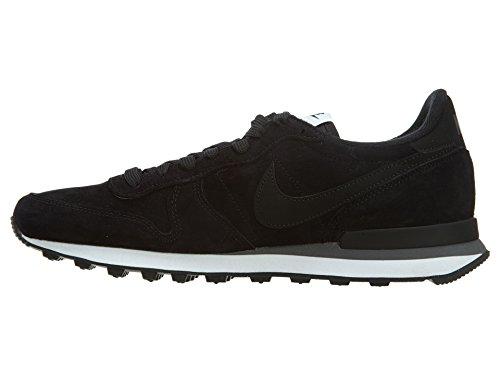 Nike  Internationalist Leather, Chaussures pour le sport et les loisirs en extérieur homme Noir - Noir