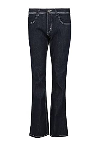 Womens Ladies Bootcut Wide Leg Bottom Flared Stretchy Pants Trouser