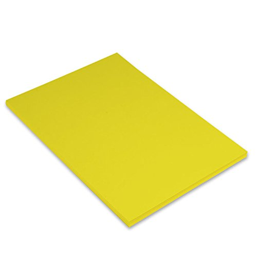 Canson Iris - Cartulina, 50 unidades, color amarillo canario
