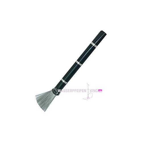 Ks Shisha Bürste Pinsel für Kamin & Sieb schwarz für Wasserpfeifen Kopf - Sieb, Pinsel