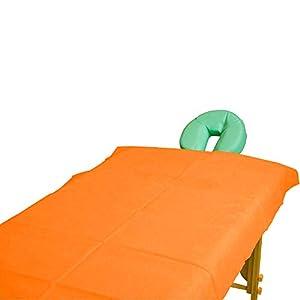 Teqler Einmallaken für Untersuchungs-, Massageliegen und Massagebänke T-131042weiss, 200 cm x 70 cm (100-er pack)