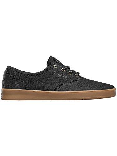 Emerica Herren the Romero Laced Black Grey Gum Skateboardschuhe black/grey/gum