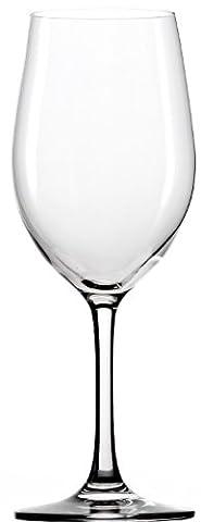 Stölzle Lausitz Verre à vin blanc Classic 370ml, Lot de 6, Passe au Lave-Vaisselle