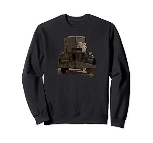 Kostüm Lkw Fahrer - Retro vintage Truck - gruseliger LKW - Creepy halloween Sweatshirt