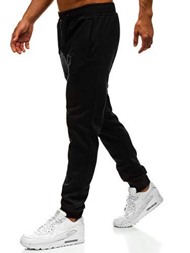 BOLF Herren Sporthose Trainingshose Jogginghose Sport Jogger Street Style J.Style XW01 Schwarz L [6F6]