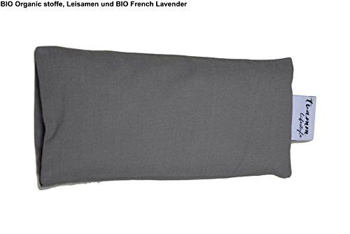 BIO Organic Augenkissen - Organic Leinsamen und BIO French Lavender (Rama)
