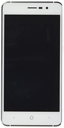 """Telephone Portable Debloqué, DOOGEE X10 Smartphone 3G Double SIM, 5.0"""" IPS Écran, Android 6.0, 3360mAh Grand Capacité, 5MP Appareil Photo Avec Flash, 8Go ROM, MT6570 cortex-A7@1.3 GHz - Argent"""
