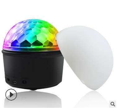 LED Discokugel,SOLMORE Disco Lichteffekt LED Nachtlicht Timing-Funktion Discolampe Partyleuchte RGB Bühnenbeleuchtung Party Licht...