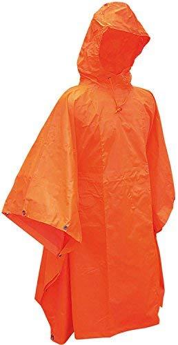 Matthias Kranz Regenponcho Regencape Orange Regenumhang Poncho Cape Umhang