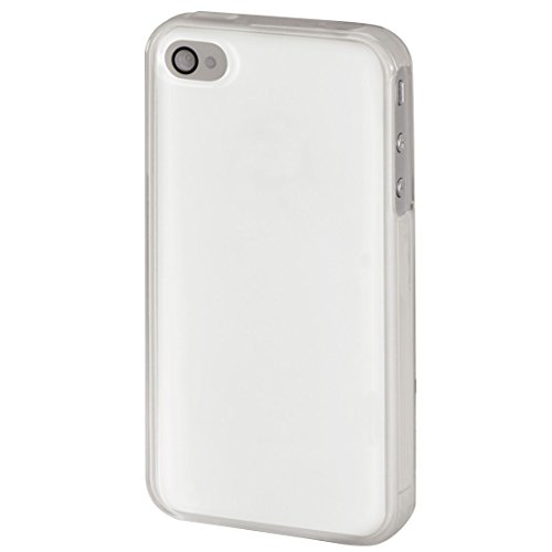 Hama Schutzhülle Cover für Apple iPhone 4/4s durchsichtig, gummierte griffige Oberfläche transparent