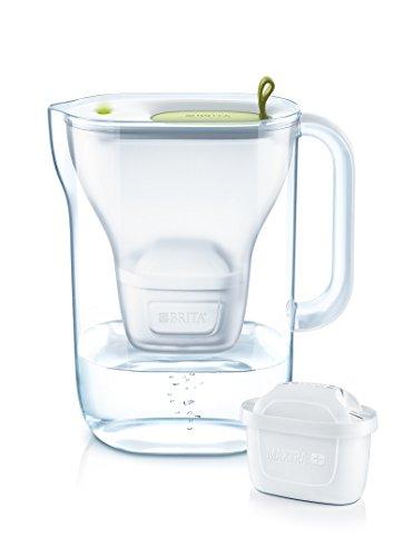 Brita Stil 3Monate Wasserfilterkanne Kunststoff grün, 2,4 L