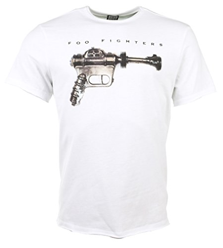 Amplified white foo fighters ray gun t shirt from