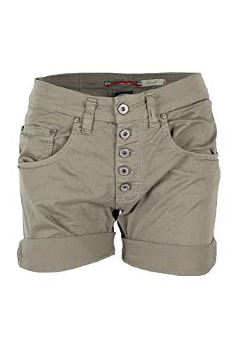 Please Shorts Damen Größe: XL, Farbe: Grün #121414_XL