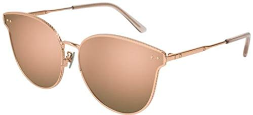 Bottega Veneta Sonnenbrillen BV0157SK Rose Gold/Rose Gold Damenbrillen