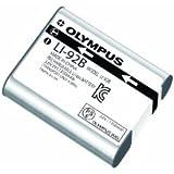 Olympus LI-92B - Batería/Pila recargable (1350 mAh, Cámara digital, iones de litio) Plata