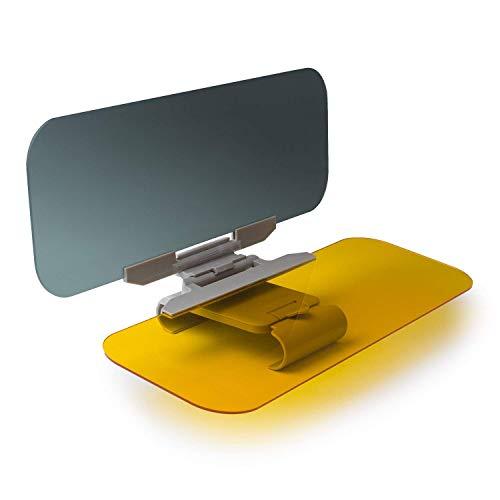 MeterMall Extensor de Visera para Coche Beinhome Extensor de Parabrisas Tintado antirreflejo para automóvil