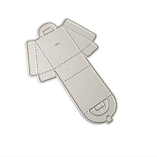 Lazzboy Fustelle Natale Scrapbooking Metallo Stencil Paper Card Craft per Sizzix Big Shot/Altre Macchine(D, Tote Bag)