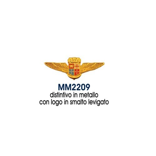 Giemme articoli promozionali - Distintivo Levigato Stemma Aviazione Navale Marina Militare Prodotto Ufficiale