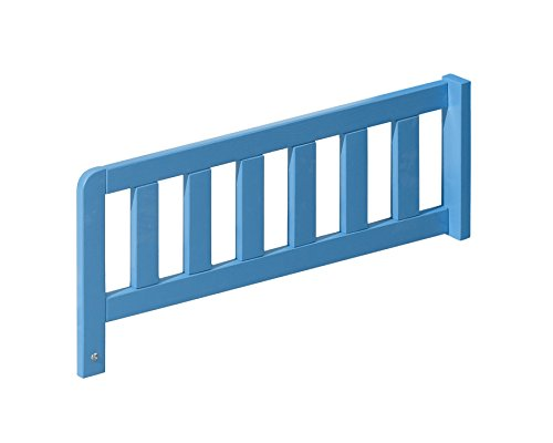 Preisvergleich Produktbild Bettbariere NUKI Bettgitter, Rausfallschutz, Randschutz (Hellblau)