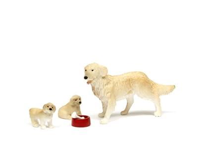Lundby 60.8039.00 - Småland: familia de los perros de casa de muñecas [Importado de Alemania] de Lundby