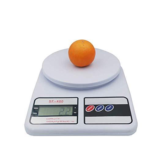 HYCy Digitale Kuuml;chenwaage (10kg / 1g) Premium Food Scale fuuml;r Backen, Kochen und Post - Leichtes und langlebiges Design (1g-container)