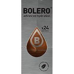 Paquete de 24 sobres bebida Bolero sabor Carrot & Orange