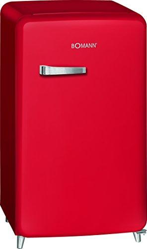 Bomann KSR 350 Kühlschrank, A++, Retro-Design, Kühlen 108 L, Gefrieren 13 L