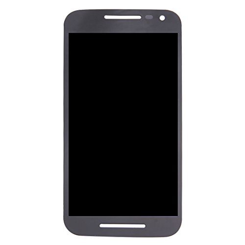 Replace LCD Screen for Motorola Ersatz/Ersatz LCD-Bildschirm + Touchscreen und Digitizer Full Assembly for Motorola Moto G (3. Generation) / XT1541 / XT1542 (Schwarz) for Motorola (Farbe : Black) (Moto G Screen-ersatz)