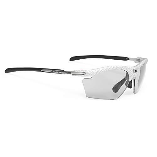 Rudy Project Rydon Slim Glasses White Carbonium - ImpactX Photochromic 2 Black 2019 Fahrradbrille