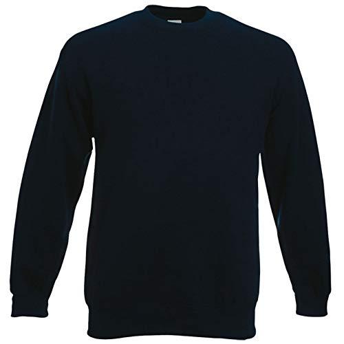 Fruit of the Loom Herren 62-202-0 Sweatshirt Dunkles Marineblau XL