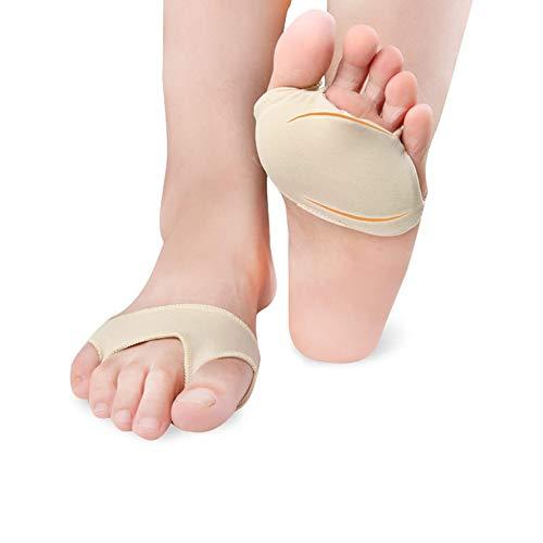 Gusaman Mittelfußbreath Toe Separator-Absatz-Einlegesohlen-Gel-Pads Vorfuß Honeycomb vorne Palm Pad Breathable-Fuss-Auflage Farbe: schwarz L -