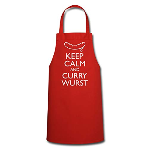 Keep Calm and Curry Wurst Kochschürze