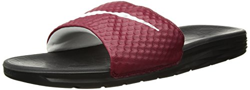 Nike Benassi Solarsoft Scarpe da Fitness Uomo, Multicolore (Team Red/White/Black 602) 44 EU