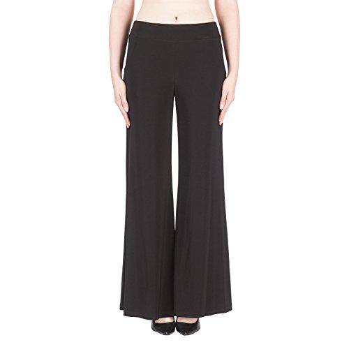 Joseph Ribkoff Black Flaire Pants Style - 161096U Collection 2019