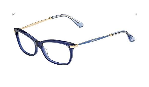 e416cd9837b Jimmy Choo Glasses Women 96 7VY Blue Full Frame  Amazon.co.uk  Clothing