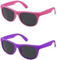 Kiddus Gafas de Sol para niña, niño, chico, chica. CAMBIAN DE COLOR cuando se exponen a luz solar directa. UV4