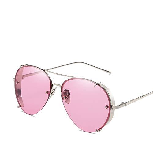 YUHANGH Mode Sonnenbrillen Full Metal Frame Vintage Persönlichkeit Hd Sonnenbrillen Steampunk Sonnenbrillen Männer Frauen