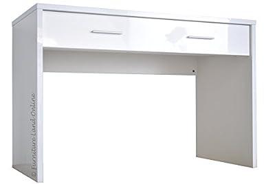 Sonix Office Contemporary Rectangular Vanity Desk With Drawer Dressing Table 120.0cm (W) x 60.0cm (D) x 80.0cm (H) - cheap UK light shop.