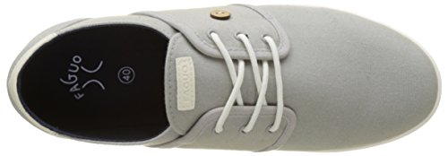 Faguo Cypress, Baskets Basses Mixte Adulte Gris (Light Grey)