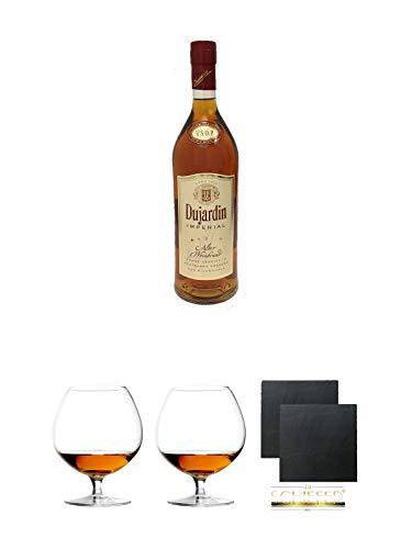 Dujardin Imperial VSOP Weinbrand 36% 0,7 Liter + Cognacglas/Schwenker Stölzle 1 Stück - 103/18 +...