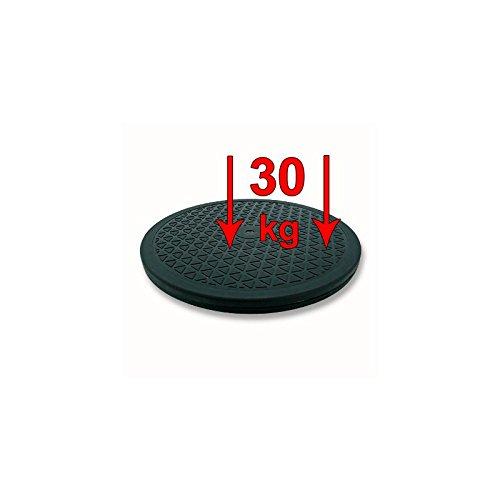 Drehscheibe 30 kg 360 Grad 250 mm schwarz