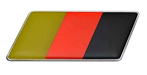 Le Teil Deutschland Flagge Porsche 356911912930914924928944959968Boxter Aluminium Deutsche Flagge hinten Emblem Badge Aufkleber