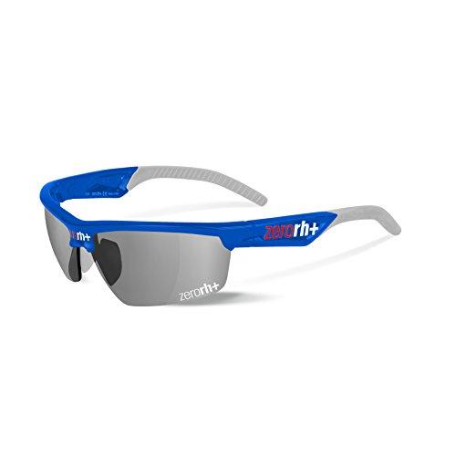 Rh+ radius occhiali, unisex adulto, blu lucido/grigio chiaro,