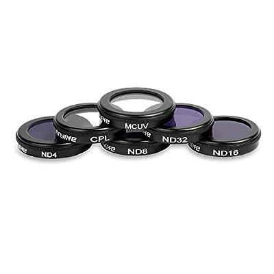 Javpoo dji Mavic 2 Zoom Drone ND4 ND8 ND16 ND32 CPL Filtro de Lente de cámara Impermeable UV por Javpoo001