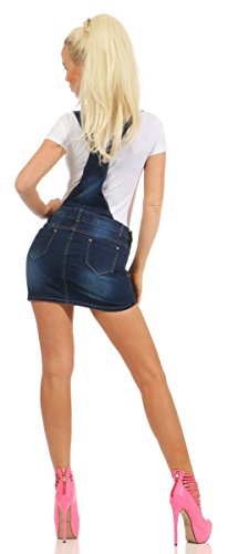 Fashion4Young - Jupe - Femme Bleu bleu 38 Bleu