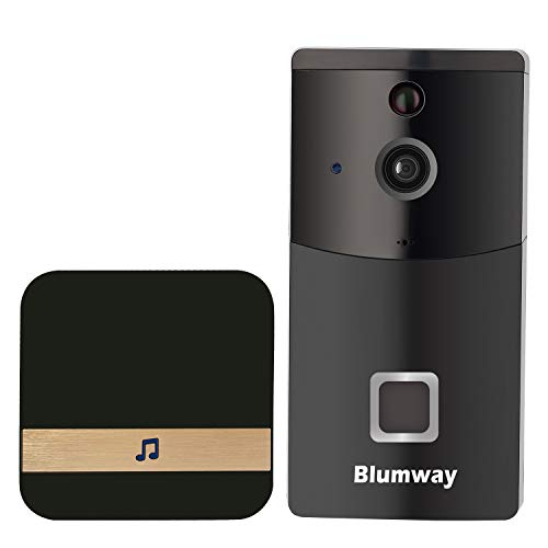 BlumWay Video Türklingel, DoorBell 720P HD Wifi