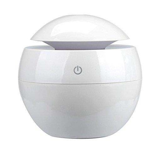 130ml Humidificador Aromaterapia Ultrasónico,STRIR Difusor de Aceites Esenciales, LED,Seguro y Elegante...