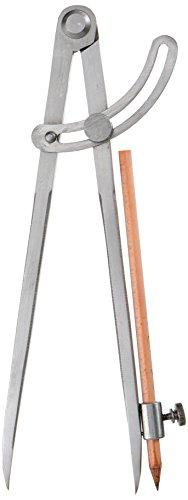 Stubai 252003 - Compás con lápiz, 250 mm